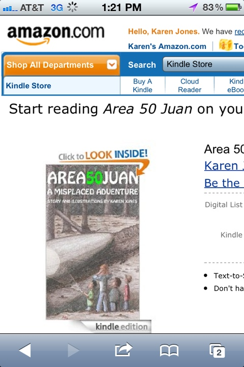 Area 50 Juan for Kindle